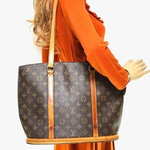 Auth Louis Vuitton Babylone Tote Bag #6261L16
